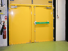 Secure Flood Door